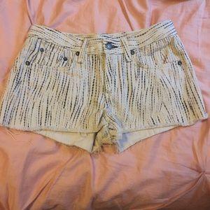 Rag & Bone patterned shorts